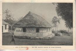 Wallis Et Futuna - LANO - Une Case Indigène Servant De Grand Séminaire - Wallis-Et-Futuna