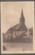 27 - TOUTAINVILLE--L'Eglise-cpsm Pf - Francia