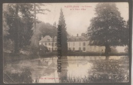 27 - ST JUST --Le Chateau Et La Pièce D'eau - Francia