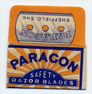 PARAGON, Lamette Hojas-hoja Afeitar Razor Blades-blade Rasierklingen Lames-lame Rasoir - Lames De Rasoir