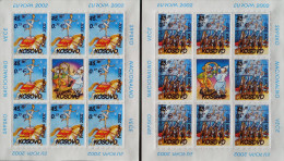 EUROPA 2002 - 2 FEUILLETS NEUFS ** - PH 0014F - EMISSION KOSOVAR - Kosovo