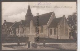 27 - PINTERVILLE--L'Eglise Et Le Monument - Francia