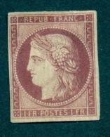 CERES 6  Neuf Sans Gomme Recto Verso Très Légère Petite Entaille En Haut A Droite - 1849-1850 Ceres