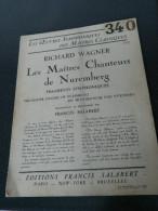 Lot De 6 Oeuvres Symphoniques - WAGNER - RACHMANINOFF - MOUSSORGSKY - TSCHAIKOWSKY - TRÉMISSOT - 1928 - SALABERT FRANCIS - Other Instruments