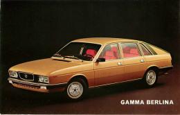 Publicités - Voitures - Automobile - Lancia Gamma Berlina - 2 Scans - Bon état Général - Reclame