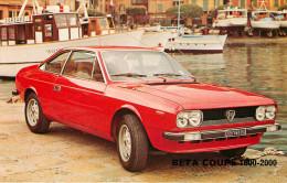 Publicités - Voitures - Automobile - Lancia Beta Coupé 1600-2000 - 2 Scans - Bon état Général - Reclame