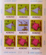 EUROPA 2007 - FEUILLET NEUF ** - PH 0085F - EMISSION KOSOVAR - Kosovo