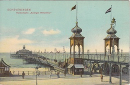 Scheveningen     Wandelhoofd  Koningin Wilhelmina  Pier      Nr 398 - Scheveningen