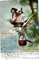 Belle Carte      -  Enfant  ,Bébé ,colombe                                        C123 - Scènes & Paysages