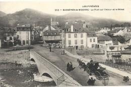 Htes Pyrénées : Bagnères De Bigorre, Le Pont Sur L'Adour, Animée - Bagneres De Bigorre