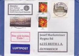 Auslands - Brief Von 26683 Saterland - Seelterlound Mit 151 Cent Schöner Mischfrankatur 2015 - Covers & Documents