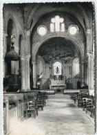 CPSM 38  ST CHEF EN DAUPHINE LE CHOEUR DE L EGLISE ABBATIALE 1956  Grand Format 15 X 10,5 - Saint-Chef