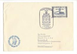 11490 - Lettre Mozart-Festwoche Salzburg 21.01.1956 - 1945-.... 2ème République