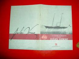 La Caisse D' Epargne Célèbre Jules Verne 2005 - Other