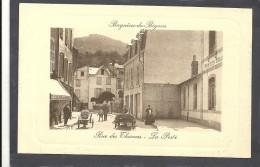 Htes Pyrénées : Bagnères De Bigorre, Rue Des Thermes, La Poste, Animée - Bagneres De Bigorre