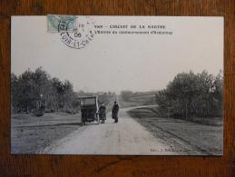 CIRCUIT De La SARTHE (72) - L'entrée Du Contournement D'Ardennay (course Automobile) - Otros Municipios