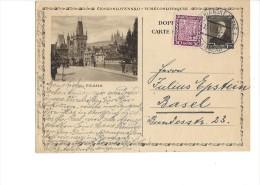 11493 - Carte Praha De Marienbad Pour Basel 13.06.1931 - Ganzsachen