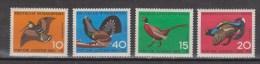 Duitsland, Alemania, Germany, Allemagne, Deutschland 464-467 MNH ; Vogels, Oiseau, Ave, Birds 1965 - Unclassified