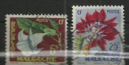 MADAGASCAR 1959 - FLOWERS - CPL. SET - USED OBLITERE GESTEMPELT USADO