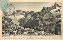 - Departs Div- Isere - Ref Z825 -  Panorama Pris De La Tete De La Maye - Le Rateau - La Meije - Pic Gaspard ..... - Andere Gemeenten