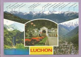 Dépt 31 - LUCHON - Multivues - Chaîne Des Pyrénées, Le Lac D'Oô , L'établissement Thermal, Vue Générale - Luchon