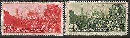 Russia 1947 Nuovo** - Mi.1117/8  Yv.1115/6