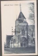 27 - MENILLES--L'Eglise---cpsm Pf - Francia
