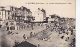 QUIBERON - Le Grand Hôtel Et La Plage (G3g-351) - Quiberon
