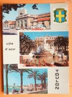 V09-83-V-var-toulon Souvenir-3 Vues-blason-- - Toulon