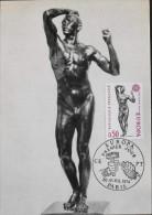 CARTE  MAXIMUM  ANNEE 1974 - EUROPA - Paris Le 20.04.1974 - Maximum Cards