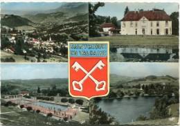 CPSM 38  SAINT GEOIRE EN VALDAINE MULTI VUES 1975  Grand Format 15 X 10,5 - Saint-Geoire-en-Valdaine