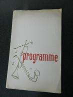 Programme Croix Rouge De Belgique - Section De Schaerbeek - Fête Annuelle Dans Les Salons De L'Hôtel Des Colonnies 1958 - Programmes