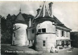 CPSM 38  SAINT GEOIRE EN VALDAINE CHATEAU DE LAMBERTIERE   Grand Format 15 X 10,5 - Saint-Geoire-en-Valdaine