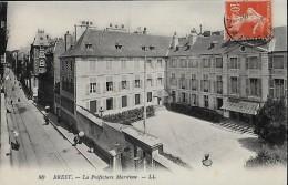 CARTE POSTALE ORIGINALE ANCIENNE : BREST ; LA PREFECTURE MARITIME ; FINISTERE (29) - Brest
