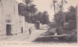CPA Biskra - Une Rue De L'Oasis Bab Darb (11617) - Biskra