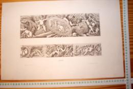 JEAN LEPAUTRE ARCHITECTE LOUIS XIV GRAVURE ca 28 x 44 cm Publie par Decloux et Doury en 1880 categorie architecture R145