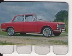 PLAQUETTE PUBLICITE - COOP - Automobile Simca 1500 - Automobile