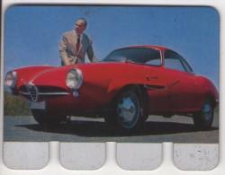 PLAQUETTE PUBLICITE - COOP - Automobile Alfa Roméo Guiletta Sprint - Automotive