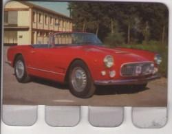 PLAQUETTE PUBLICITE - COOP - Automobile Maserati 3 500 - Automobile