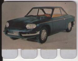 PLAQUETTE PUBLICITE - COOP - Automobile Panhard 24 Cf 1964 - Moteur Tigre - Automobile