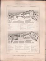 PLAN - Etablissement Thermal à La BOURBOULE - Encyclopédie Architecture, Archi. CLARIS - Architecture