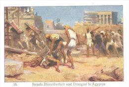 Israels Dienstbarkeit Und Drangsal In Ägypten - Andachtsbilder