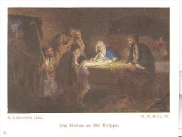 Hirten An Der Krippe - Images Religieuses