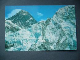 Nepal: Mt. Everest - Unused, Small Format - Nepal