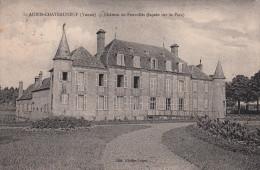 89 - SAINT AUBIN CHATEAUNEUF / CHATEAU DE FOUROLLES - FACADE SUR LE PARC - France