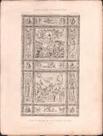 PLAN - PORTE De BRONZE, Sacristie De ST MARC à VENISE - Encyclopédie Architecture, Archi. SANSOVINO - Architecture