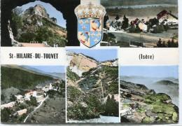 CPSM 38 ST HILAIRE DU TOUVET  MULTI VUES  Grand Format 15 X 10,5 - Saint-Hilaire-du-Touvet