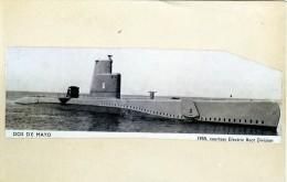 Batiment Militaire Marine Perou Sous Marin Dos De Mayo    Lobo  Coque 6 - Barche