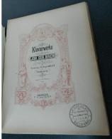 BACH - Französische Suiten - Édition PETERS - N° 202 - A-C