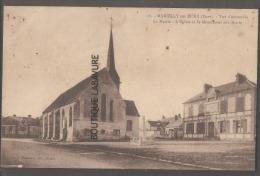27 - MARCILLY SUR EURE--Vue D'Ensemble--La Mairie-L'Eglise Etle Monument Aux Morts- - Francia